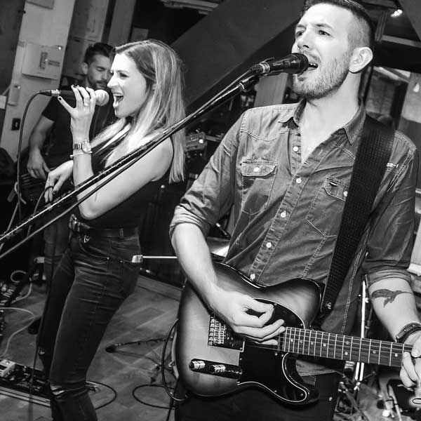 Brown & Bannister | Acoustic Wedding Duo, Cardiff